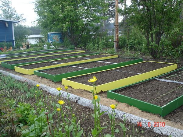 Как облагородить огород своими руками