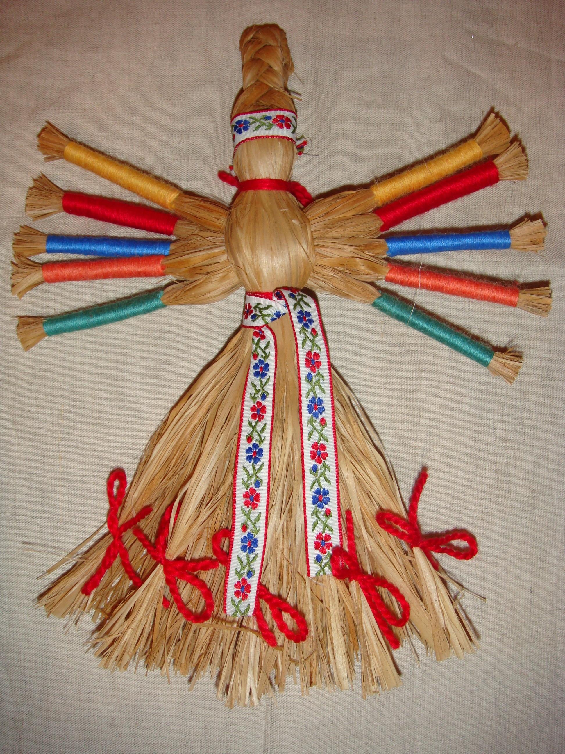 Народная кукла «Десятиручка» помощница в делах