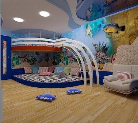 Детская комната для двоих детей * 13 стр. * Деткино, Сургут